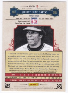 2012 Panini Cooperstown Rod Carew