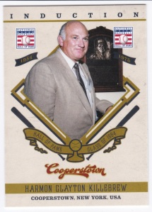 2012 Panini Cooperstown Harmon Killebrew Induction