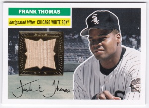 2012 Topps Archives Frank Thomas Relic