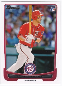 2012 Bowman Draft Picks and Prospects Bryce Harper