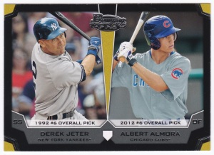 2012 Bowman Draft Picks & Prospects Top Picks Jeter & Almora