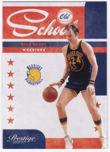 2010-11 Panini Prestige Old School Rick Barry