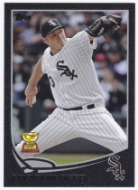 2013 Topps Black Addison Reed