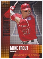2013 Topps Chasing the Dream Mike Trout
