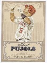 2013 Topps Calling Cards Albert Pujols