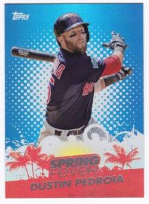2013 Topps Spring Fever Dustin Pedroia