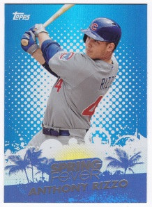 2013 Topps Spring Fever Anthony Rizzo